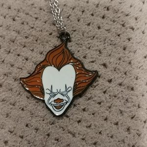 New pennywise IT horror necklace